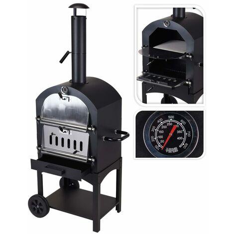 "main image of ""ProGarden BBQ Pizza Oven Black - Black"""