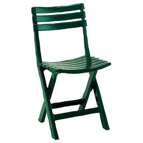 PROGARDEN - Chaise de jardin pliante Birki - vert