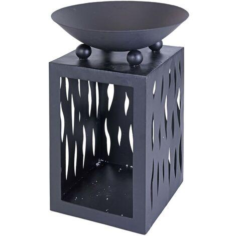 ProGarden Fire Bowl with Storage 45 cm - Black