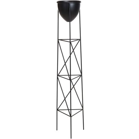 ProGarden Macetero en soporte metal 26,5x120 cm