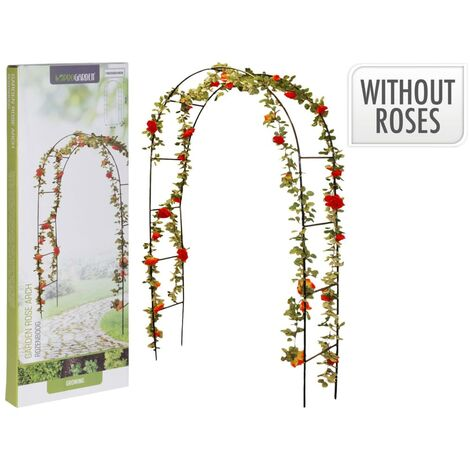 ProGarden Rose Arch with Metal Frame 13 mm - Green