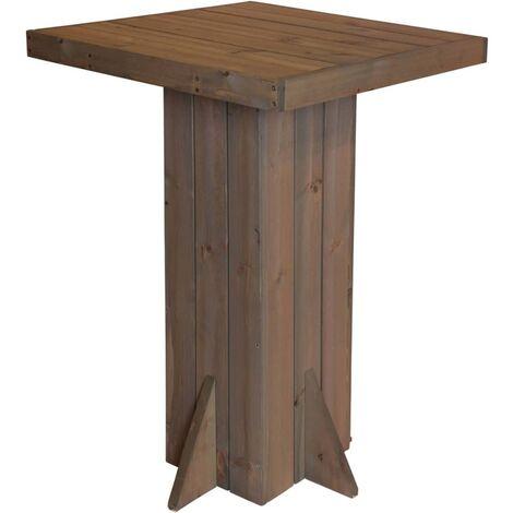 ProGarden Stehtisch 74x74x110 cm Holz