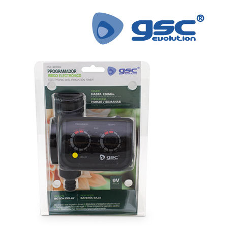 Programador de riego electrónico frequencia y tiempo GSC 003602054