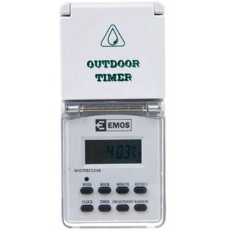 Programador digital de tiempo TFE-5 / OUT Emos 107005