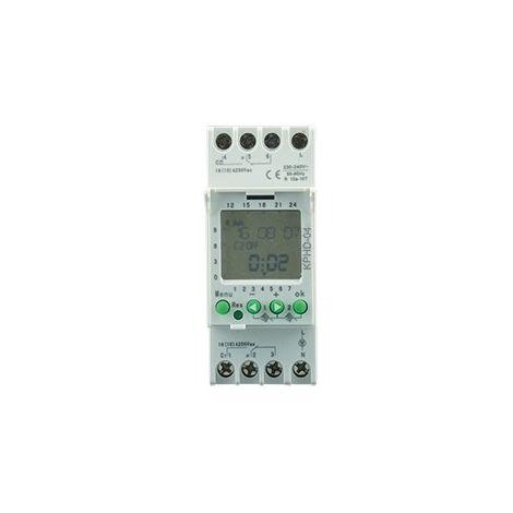 PROGRAMADOR DIGITAL KPHD-04 230-240V