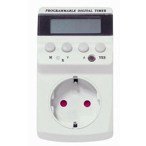 PROGRAMADOR DIGITAL SEMANAL CON TT 90001