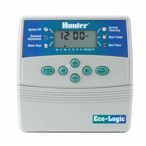 Programador Eco-Logic 4 Estaciones Hunter