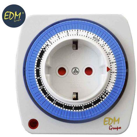 Programador eléctrico diario compacto Basic Line EDM
