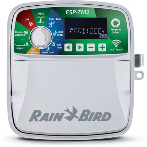 Programador Rain Bird ESP-TM2 8 estaciones exterior