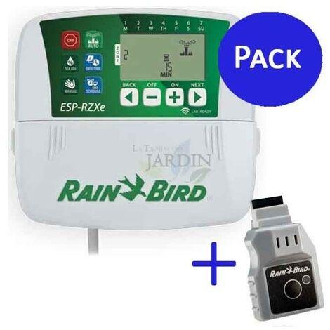 Programador Rain Bird RZX 4 zonas interior + Wifi LNK