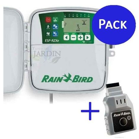Programador Rain Bird RZX 8 zonas Extérieur + Wifi LNK