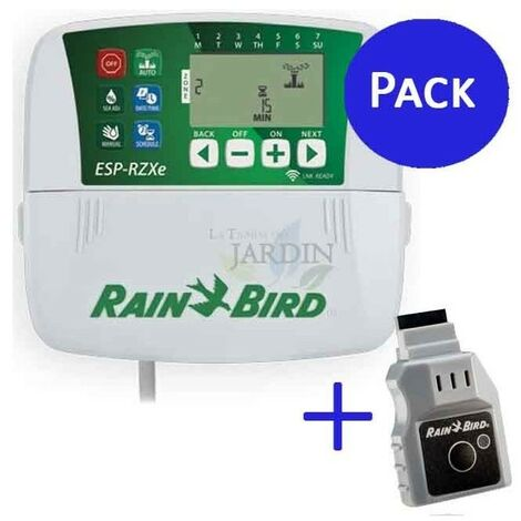 Programador Rain Bird RZX 8 zonas interior + Wifi LNK