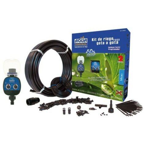 Programador Riego 25Mttubo+15Mt Microtubo Goteo Aqc C4064