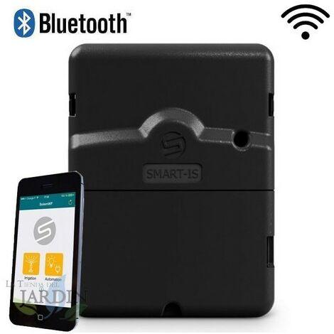 Programador riego Bluetooth y Wifi Solem, 4 estaciones de riego eléctrico