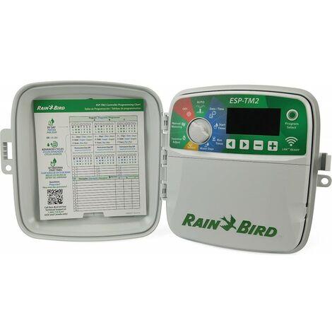 Programador riego Rain Bird ESP-TM2 8 zonas exterior