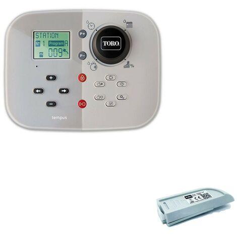 Programador riego Toro Tempus 6 Estaciones Interior 220V + Modulo Wifi