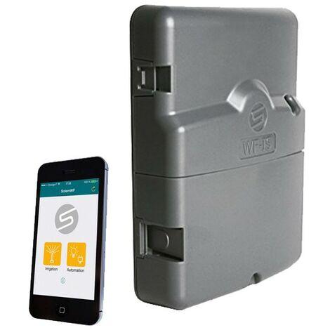 Programador Solem AC eléctrico 2 estaciones controlado por Wifi