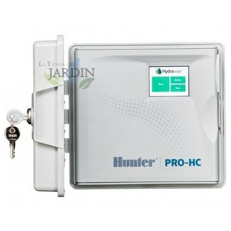 Programador Wifi Hydrawise 6 Zonas Exterior Hunter