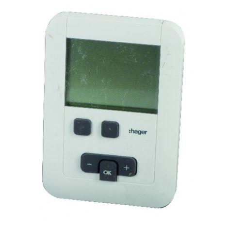 Programmable thermostat hager ek570 batteries lr6 - HAGER : EK570