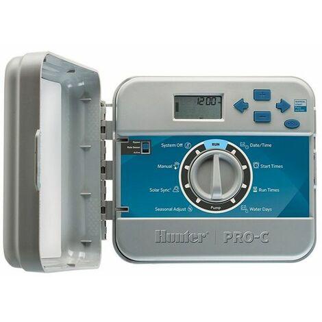 programmateur 4 stations montage extérieur - pc-401-e - hunter