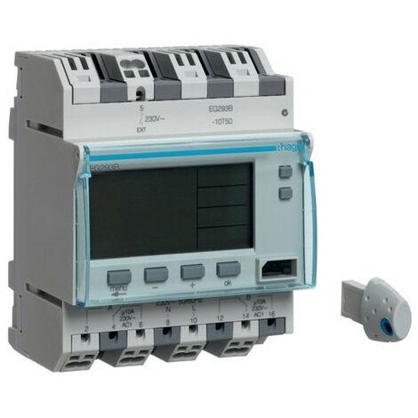 Programmateur annuel 2 voies 4M (HAG EG293B)