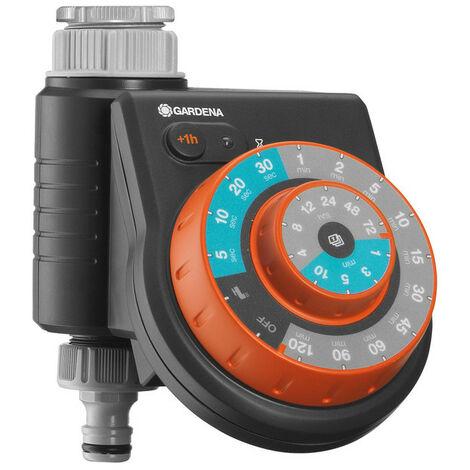 Programmateur d'arrosage Easy Control GARDENA pour robinets 20/27 26/34 - 1888-20