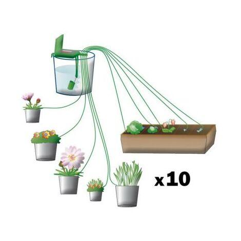 Programmateur d'arrosage multi plante de 1 à 10 fois par jour
