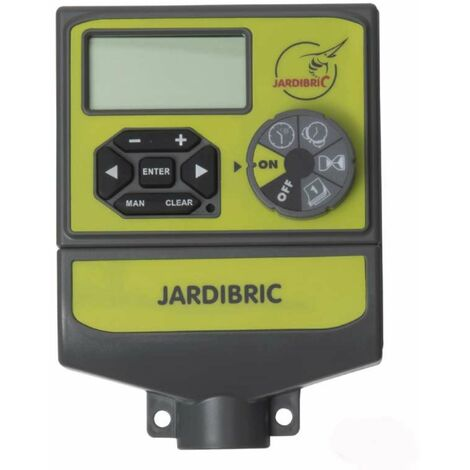 Programmateur électrovanne 4 sorties 24v Jardibric