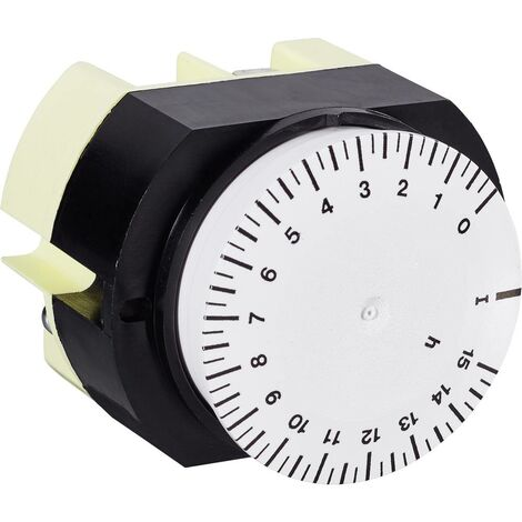 Programmateur horaire pour encastrement sur panneau Suevia 346 K15 WS 346 K15 WS analogique 230 V/AC 16 A/250 V 1 pc(s)