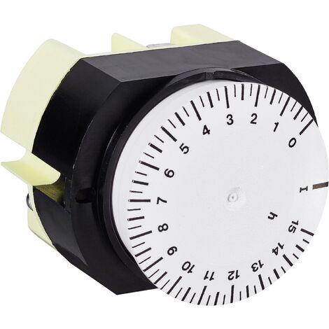 Programmateur horaire pour encastrement sur panneau Suevia 346 K15 WS 346 K15 WS analogique 230 V/AC 16 A/250 V 1 pc(s) X90497