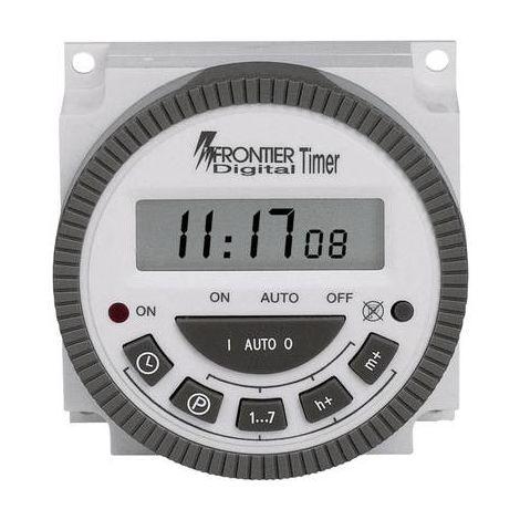 Programmateur horaire pour encastrement sur panneau TM-619 TM-619 numérique 230 V/AC 16 A/250 V 1 pc(s)