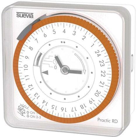 Programmateur horaire pour montage en saillie Suevia Practic RD SU251232 analogique 230 V/AC 16 A/230 V 1 pc(s)
