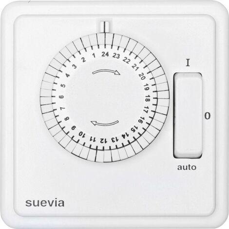 Programmateur horaire pour montage encastré Suevia 248 T30 SU280447 analogique programme journalier 2200 W IP20 1 pc(s)