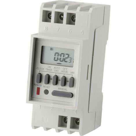 Programmateur horaire pour rail C-Control TM-848-2 CC-6432033 numérique 230 V/AC 16 A/250 V 1 pc(s)