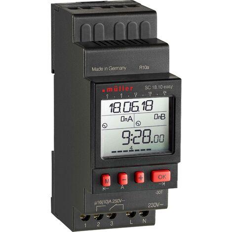 /Interrupteur horaire astron/ómico 230/VAC Finder s/érie 12/