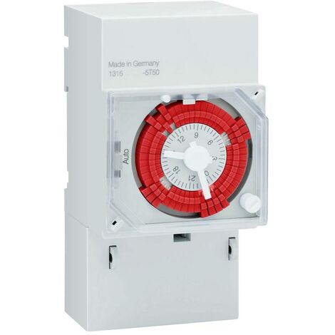 Programmateur horaire pour rail Müller VS 30.18 VS 30.18 analogique 12 V/DC, 24 V/DC, 24 V/AC 16 A/250 V 1 pc(s)