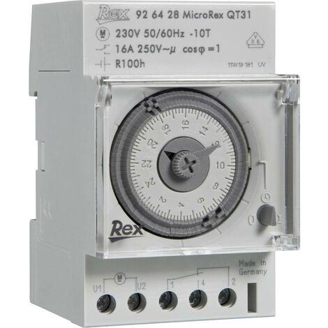 Programmateur horaire pour rail REX Zeitschaltuhren 925429 925429 230 V 16 A/250 V 1 pc(s)