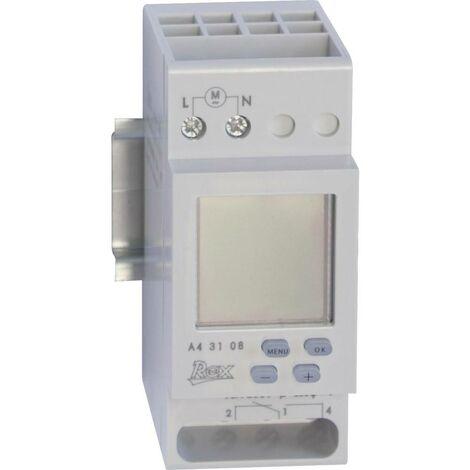 Programmateur horaire pour rail REX Zeitschaltuhren A43108 A43108 230 V 1 pc(s)