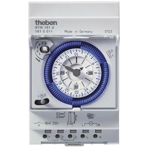 Programmateur horaire pour rail Theben 1610011 1610011 1 pc(s) W09333