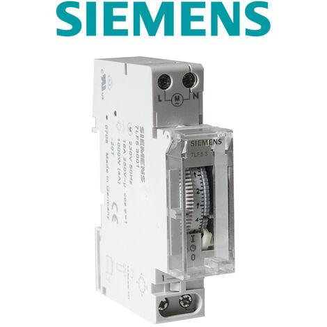 Programmateur horaire synchrone 1 module - SIEMENS