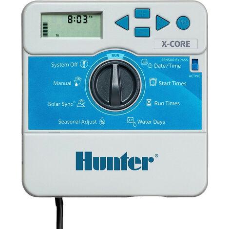 Programmateur Hunter 1 a 4 voies 24 Volts 3 programmes, 4 départs par programme
