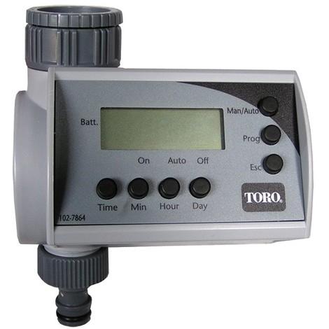 Programmateur nez de robinet avec vanne intégrée de Toro - Programmateur arrosage