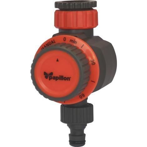 PROGRAMMATORE irrigazione con VALVOLA MECCANICA 1 USCITA PAPILLON con timer