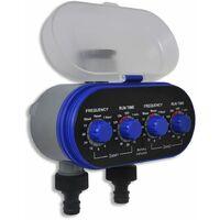 Programmatore timer irrigazione elettronico automatico per orto 2 vie