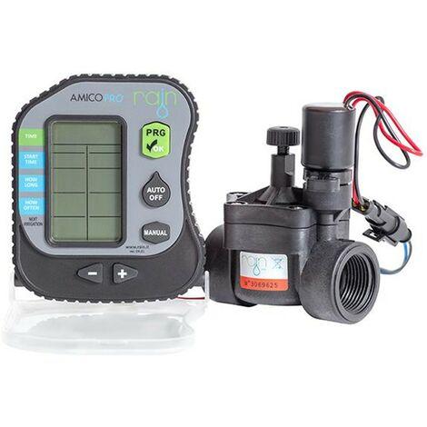 Programmer batterie 1 zone de Rain Amico PRO1 et RN 150 Electrovanne 1 « 9V