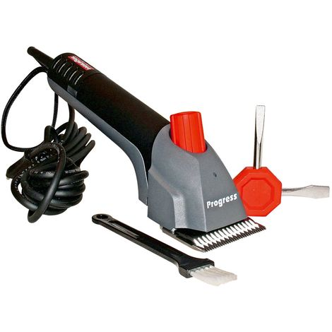 Progress current horse shearer, light and silent, with complete kit
