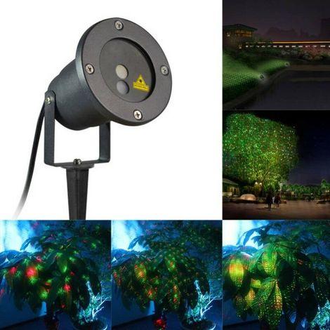 Faro Proiettore Luci Natalizie.Proiettore Faro Laser Luci Di Natale Natalizie Addobbo Natalizio Per Esterno