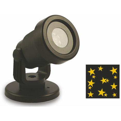 Proiettore Luci Natalizie Per Interno.Proiettore Laser A Led Stelle Oro Luci Natalizie Da Interno E
