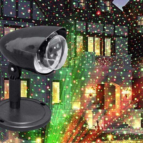 Proiettore Luci Laser Natalizie.Proiettore Laser Natale Esterno Giardino 10m 2 Colori Luce Led Feste