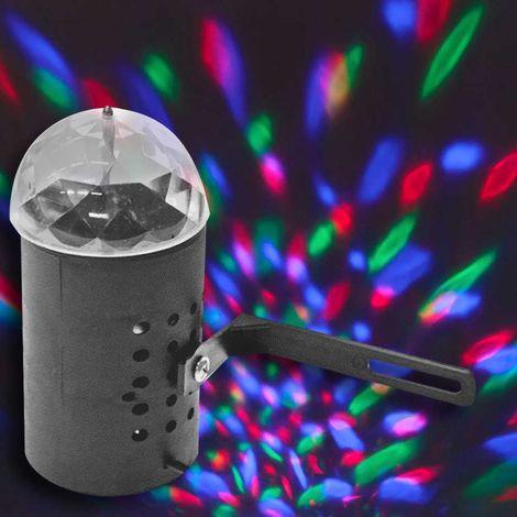 Proiettore Luci Bianche Natalizie.Proiettore Laser Natale Luce Lampadina Led Rotante Rgb Effetti